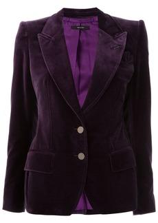 Tom Ford peaked lapel slim-fit blazer