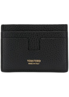 Tom Ford pebbled leather card holder