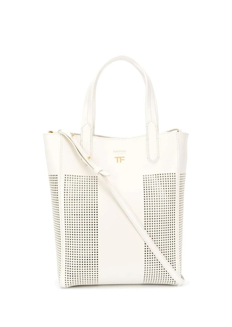 Tom Ford perforated tote bag