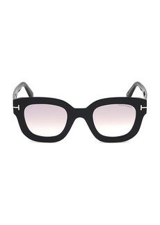 Tom Ford Pia 48MM Square Sunglasses