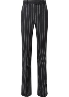 Tom Ford Pinstriped Wool Flared Pants