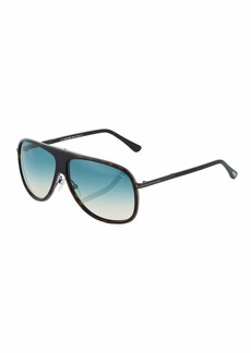 Tom Ford Plastic/Metal Aviator Sunglasses