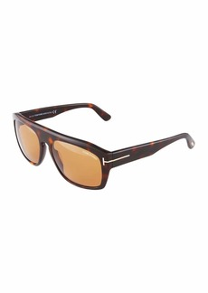 Tom Ford Rectangle Acetate Sunglasses