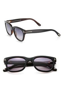 Tom Ford 53MM Rectangular Acetate Sunglasses