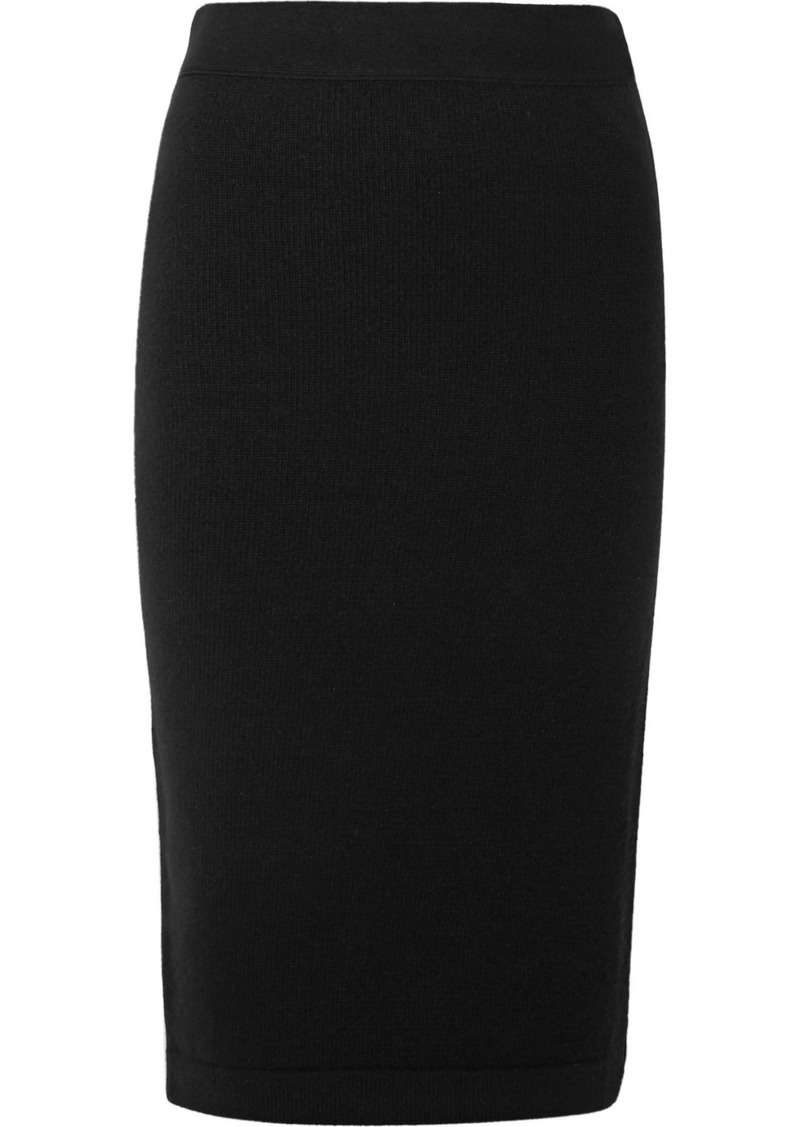 Tom Ford Ribbed Cashmere-blend Pencil Skirt