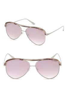Sabine 60MM Aviator Sunglasses