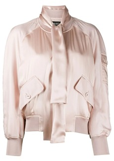 Tom Ford satin bomber jacket