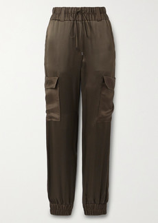 Tom Ford Silk-satin Track Pants