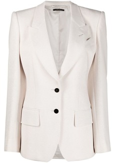 Tom Ford single breasted peak-lapel blazer