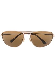 Tom Ford slim oval-frame sunglasses