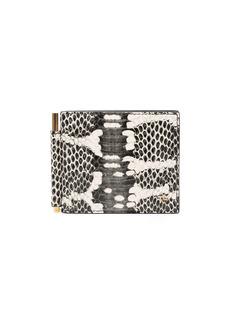 Tom Ford snakeskin-effect wallet
