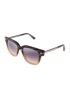 Tom Ford Square Cat-Eye Acetate Sunglasses