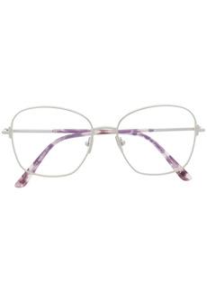 Tom Ford square-frame clear-lens glasses