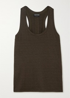 Tom Ford Stretch-linen Tank