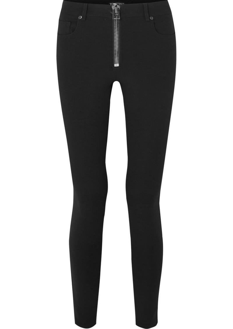 Tom Ford Stretch-wool Skinny Pants