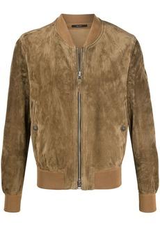 Tom Ford suede bomber jacket