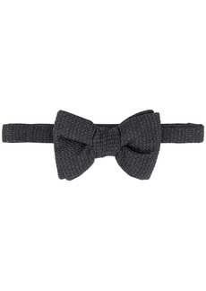 Tom Ford textured-finish bow tie