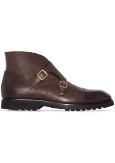 Tom Ford monk strap ankle boots