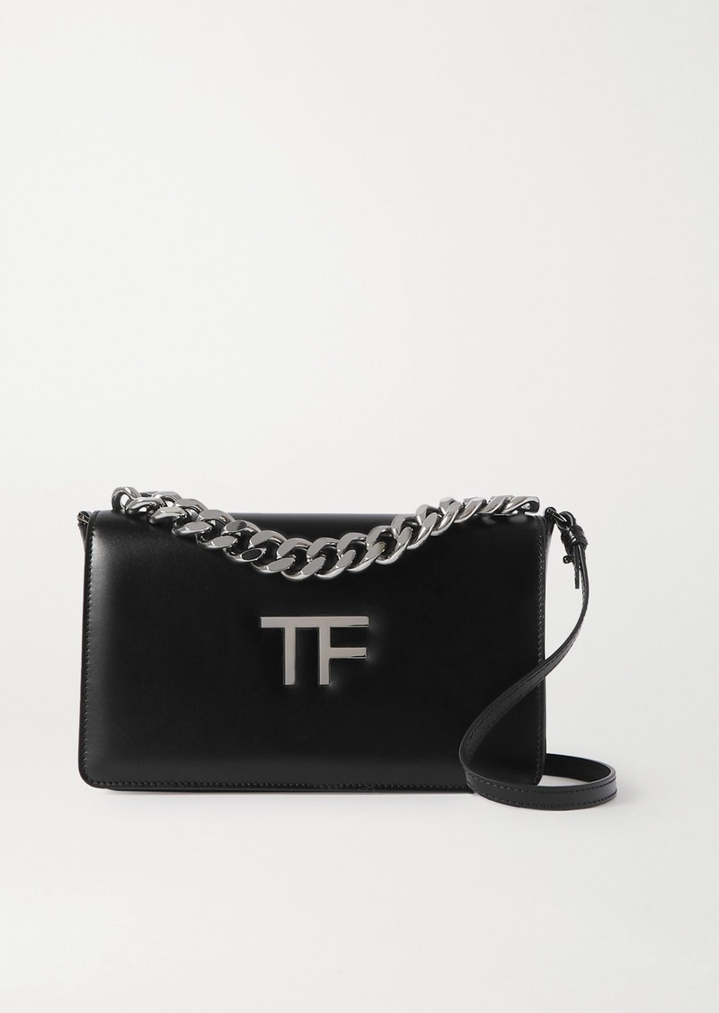 Tom Ford Tf Chain Medium Leather Shoulder Bag
