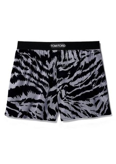Tom Ford Tiger-Stripe Boxer Shorts