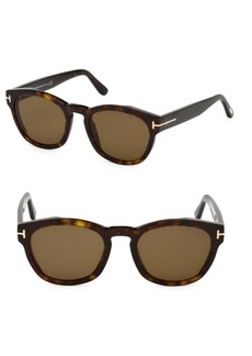 Tom Ford Bryan 51MMM Square Sunglasses