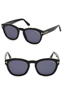 Tom Ford Bryan 51MM Square Sunglasses