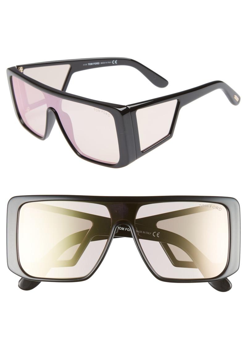 061f5252eee Tom Ford Tom Ford 132mm Atticus Shield Sunglasses