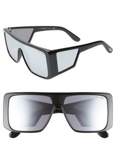 Tom Ford 132mm Atticus Shield Sunglasses