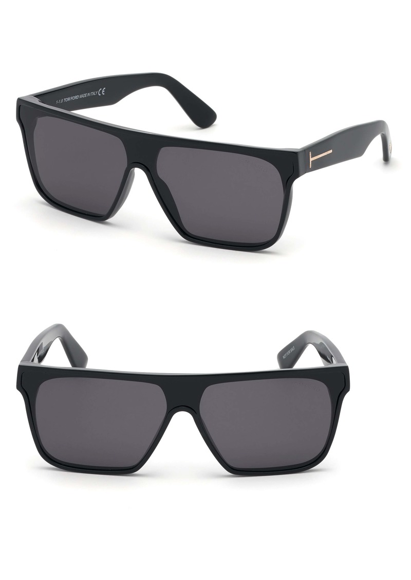 Tom Ford 140mm Shield Sunglasses