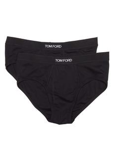 Tom Ford 2-Pack Cotton Stretch Jersey Briefs