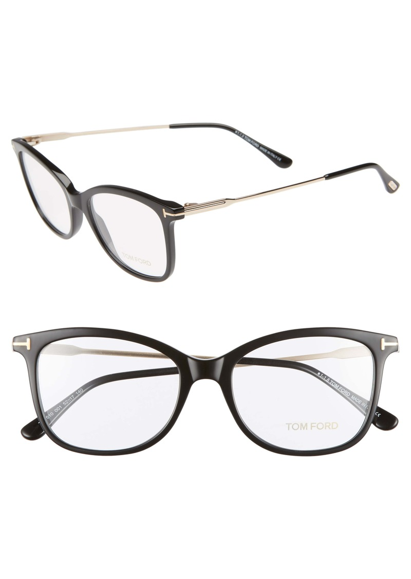Tom Ford 52mm Round Optical Glasses