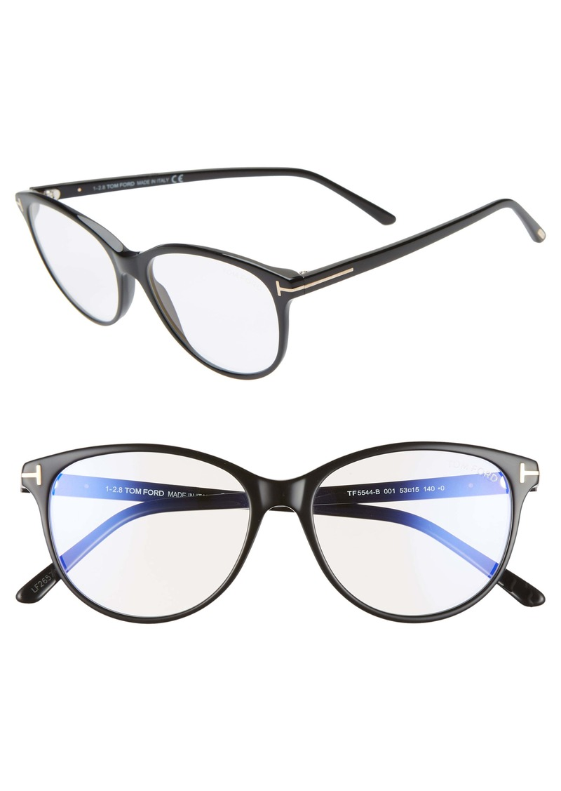 Tom Ford 53mm Blue Light Blocking Glasses