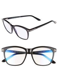 Tom Ford 54mm Blue Block Optical Glasses
