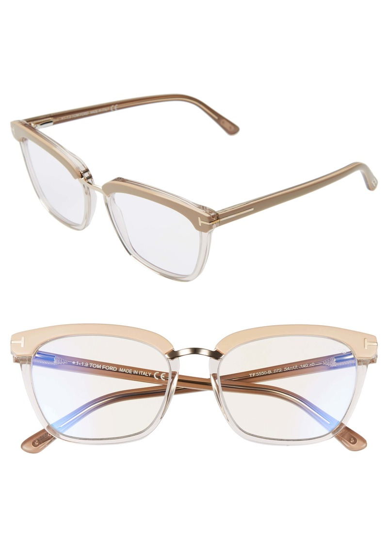 Tom Ford 54mm Blue Light Blocking Glasses