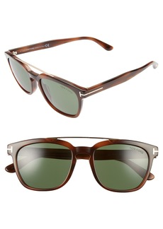 Tom Ford 54mm Double Brow Bar Sunglasses