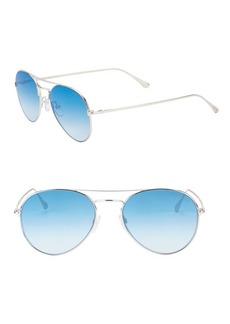 Tom Ford 55MM Ace Aviator Sunglasses