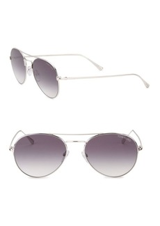 Tom Ford 55MM Ace Aviator Sunglasses