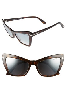 Tom Ford 55mm Cat Eye Sunglasses