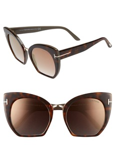 Tom Ford 55mm Oversize Sunglasses