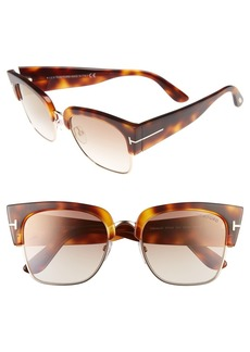 Tom Ford Dakota 55mm Retro Sunglasses
