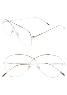 Tom Ford 56mm Aviator Optical Glasses