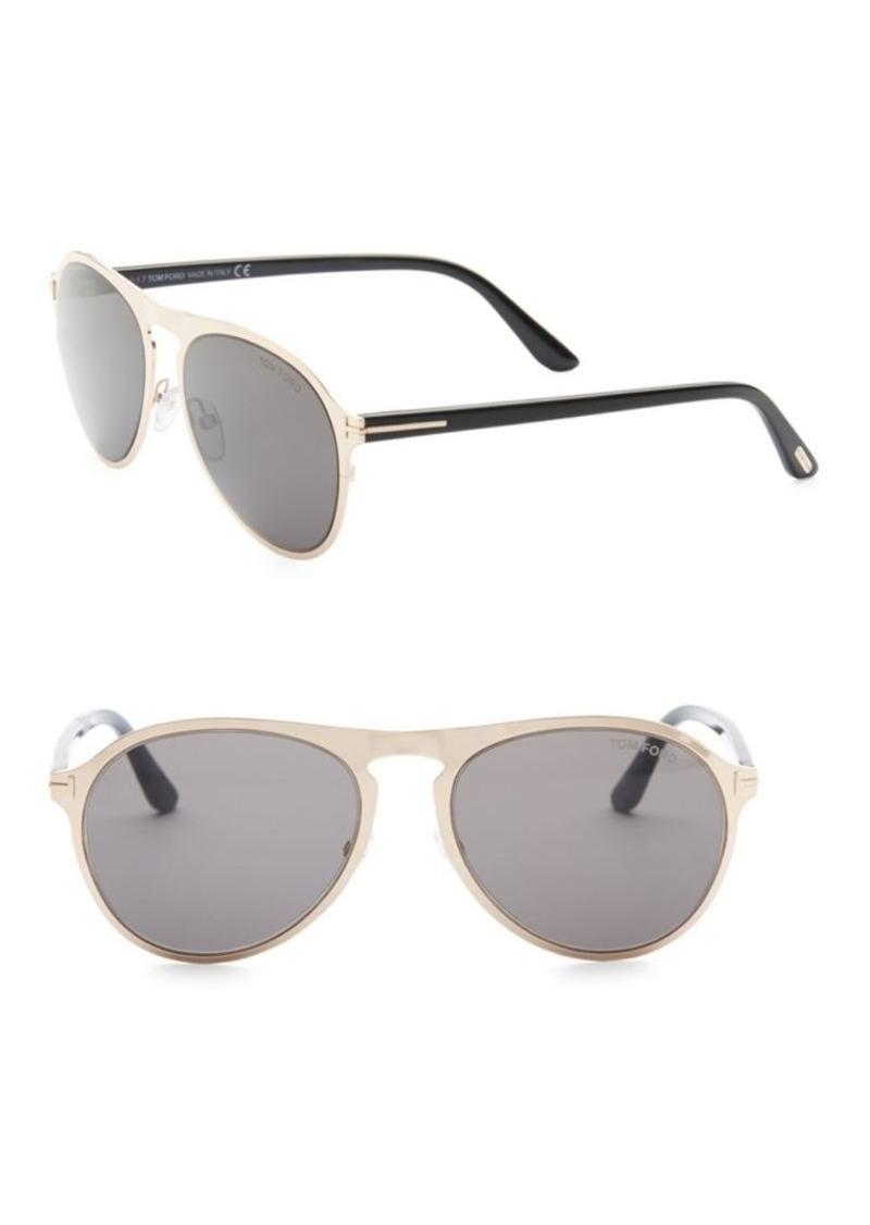 86d280c1b16a1 Tom Ford 56MM Bradburry Sunglasses