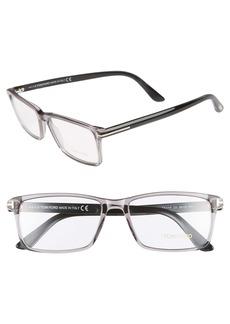 Tom Ford 56mm Rectangle Optical Glasses