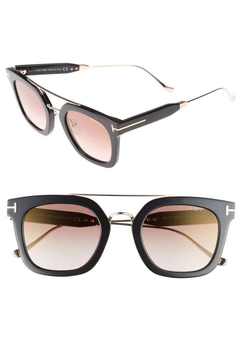 a2b7dfd3911 Tom Ford Tom Ford Alex 51mm Sunglasses
