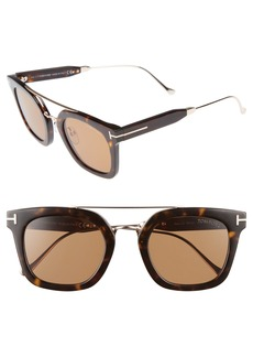 Tom Ford Alex 51mm Sunglasses