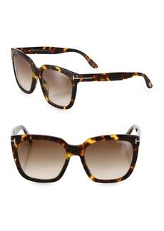 Tom Ford Amarra 55MM Square Sunglasses