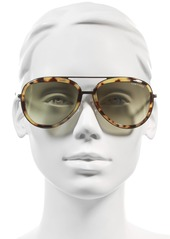 Tom Ford Andy 58mm Aviator Sunglasses