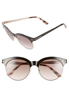 Tom Ford 'Angela' 53mm Retro Sunglasses
