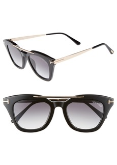 Tom Ford Anna 49mm Gradient Sunglasses
