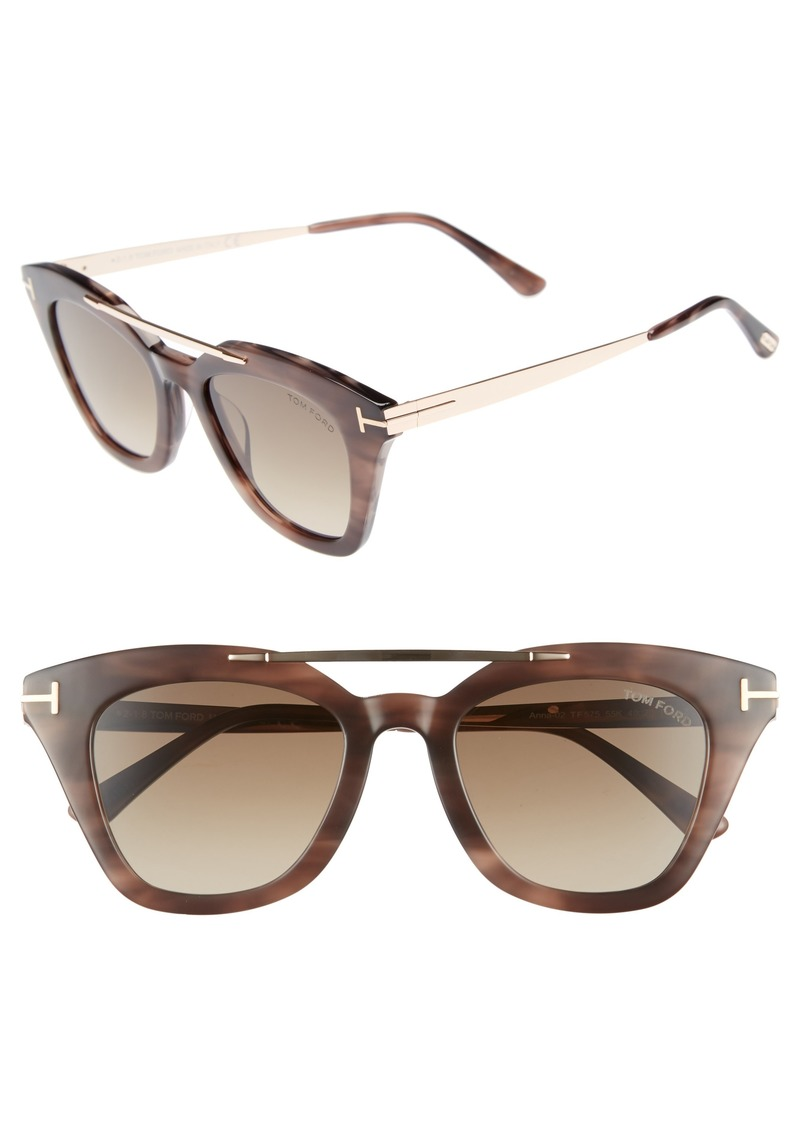 4bade7ed89 Tom Ford Tom Ford Anna 49mm Gradient Sunglasses